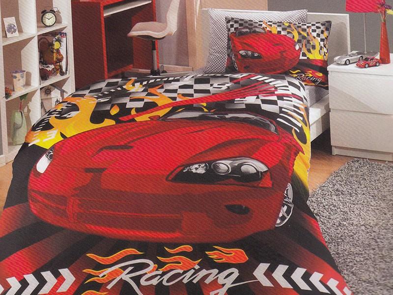 Lenjerie Car Racing (Bumbac Poplin)