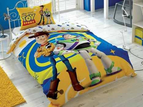 Lenjerie Copii Toy Story 4 (Bumbac 100%)