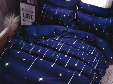 Lenjerie Falling Stars (Bumbac Satinat)