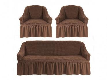 Set 3 Huse pentru canapea si fotolii Irma Maro