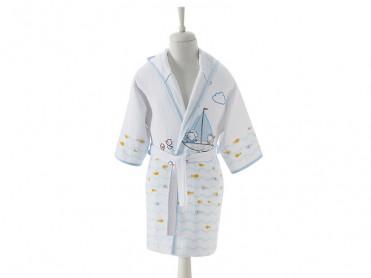 Halat de baie Pentru Copii, 2-4 ani, Seafriend (Bumbac 100%)