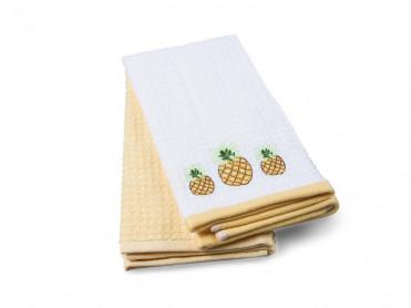 Set 2 Prosoape de Bucatarie 40x60 Pineapple (Bumbac 100%)