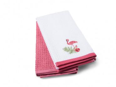 Set 2 Prosoape de Bucatarie 40x60 Flamingo (Bumbac 100%)