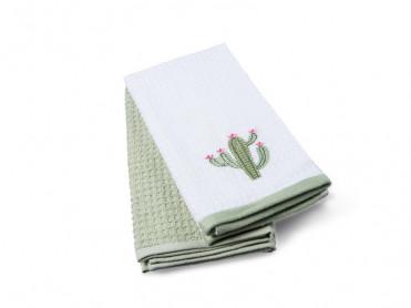 Set 2 Prosoape de Bucatarie 40x60 Cactus (Bumbac 100%)