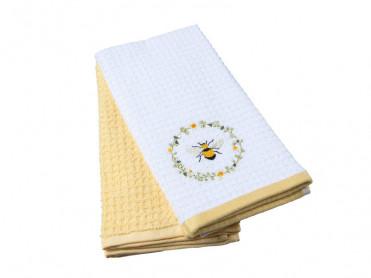 Set 2 Prosoape de Bucatarie 40x60 Daisy Bee (Bumbac 100%)