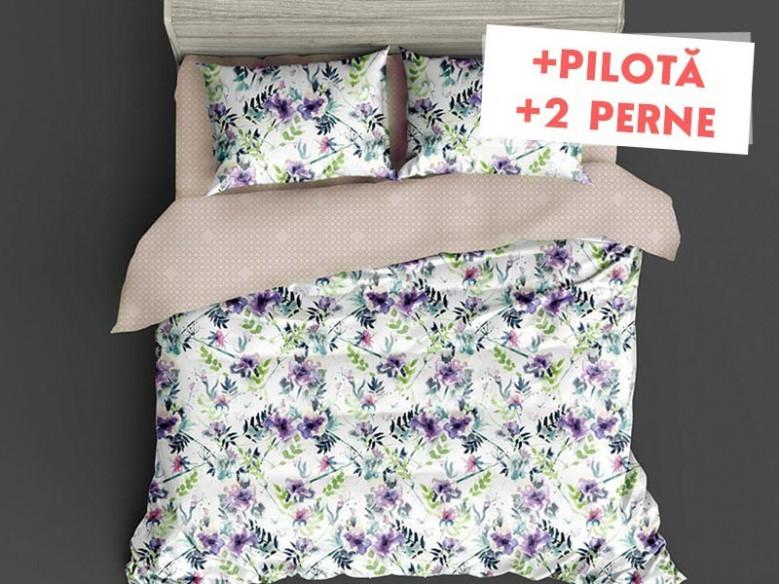 Pachet Lenjerie + Pilota + Perne Karena (Finet)