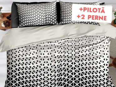 Pachet Lenjerie + Pilota + Perne Wave (Finet)