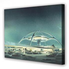 Tablou Canvas Aeroport, Dreptunghiular, Diverse Marimi