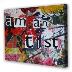 Tablou Canvas Artist, Dreptunghiular, Diverse Marimi