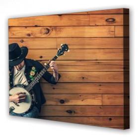 Tablou Canvas Banjo, Dreptunghiular, Diverse Marimi