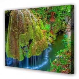 Tablou Canvas Cascada si Pomi, Dreptunghiular, Diverse Marimi