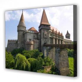 Tablou Canvas Castel Hunedoara, Dreptunghiular, Diverse Marimi