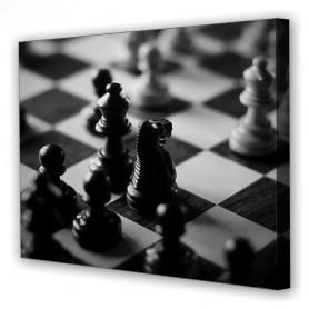 Tablou Canvas Chess, Dreptunghiular, Diverse Marimi
