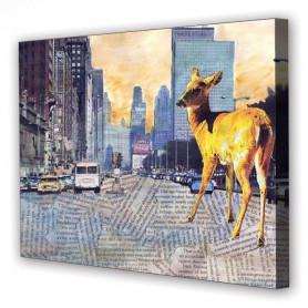 Tablou Canvas Chicago, Dreptunghiular, Diverse Marimi