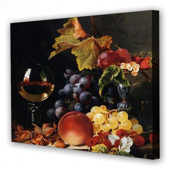 Tablou Canvas Compozitie Vin, Dreptunghiular, Diverse Marimi