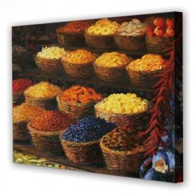 Tablou Canvas Condimente, Dreptunghiular, Diverse Marimi