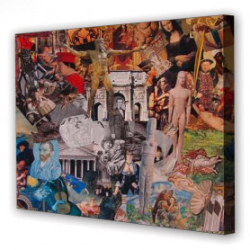 Tablou Canvas Istoria Artei, Dreptunghiular, Diverse Marimi
