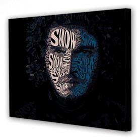 Tablou Canvas John Snow, Dreptunghiular, Diverse Marimi