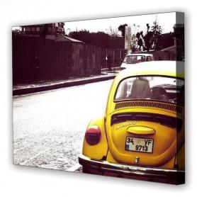 Tablou Canvas Volkswagen Beatle, Dreptunghiular, Diverse Marimi