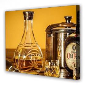 Tablou Canvas Whiskey, Dreptunghiular, Diverse Marimi