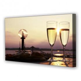 Tablou Canvas Amiaza Romantica, Panoramic, Diverse Marimi