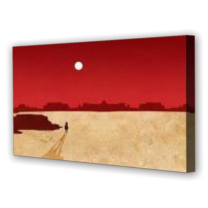 Tablou Canvas Cowboy, Panoramic, Diverse Marimi