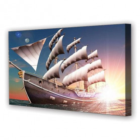 Tablou Canvas Digital 3D Nava, Panoramic, Diverse Marimi