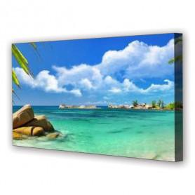 Tablou Canvas Plaja de Vis, Panoramic, Diverse Marimi