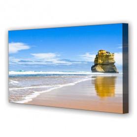 Tablou Canvas Plaja Vara, Panoramic, Diverse Marimi