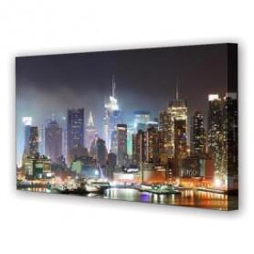 Tablou Canvas Portul din New York, Panoramic, Diverse Marimi