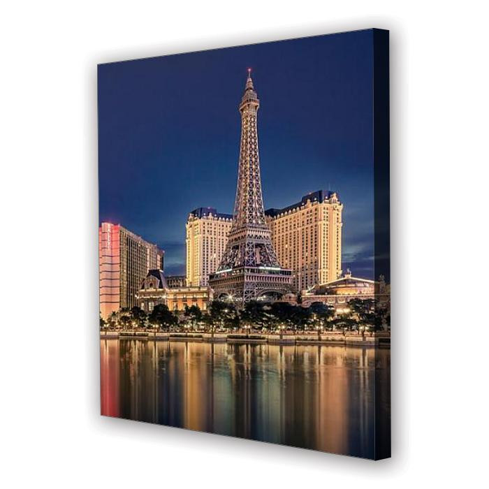 Tablou Canvas Las Vegas, Patrat, Diverse Marimi