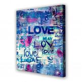 Tablou Canvas Love, Patrat, Diverse Marimi