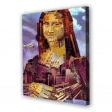 Tablou Canvas Mona Lisa, Patrat, Diverse Marimi