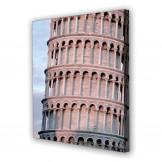 Tablou Canvas Turn Pisa, Patrat, Diverse Marimi