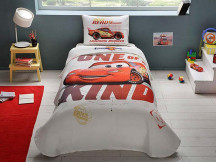 Lenjerie si Cuvertura Copii Cars Piston Cup (Bumbac 100%)