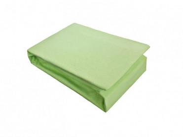 Husa de Pat tip Jersey, Verde, 140x200 cm (Bumbac 100%)