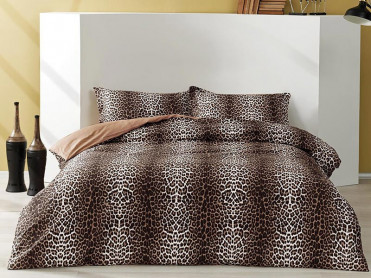 Lenjerie Leopard Maro (Satin Deluxe)