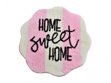 Covoras de Baie Home Sweet Home Roz (Acryl)