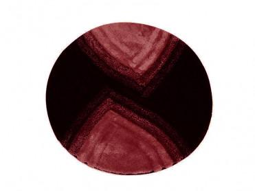 Covoras de Baie rotund Stella Rosu (Acryl)