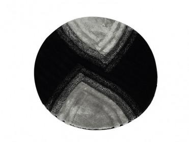 Covoras de Baie rotund Stella Antracit (Acryl)