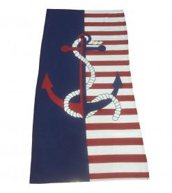 Prosop de Plaja American Anchor (Bumbac 100%)