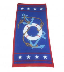 Prosop de Plaja Anchor Star (Bumbac 100%)