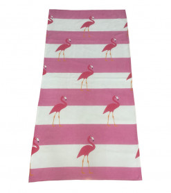 Prosop de Plaja Flamingos (Bumbac 100%)