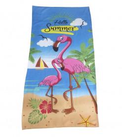 Prosop de Plaja Hello Summer (Bumbac 100%)