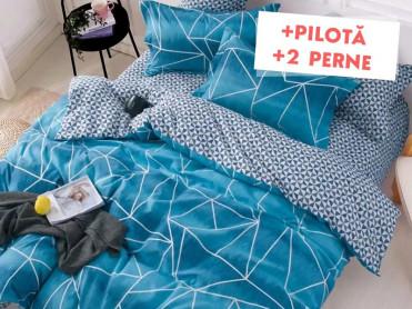 Pachet Lenjerie + Pilota + Perne Deep Sea (Finet)