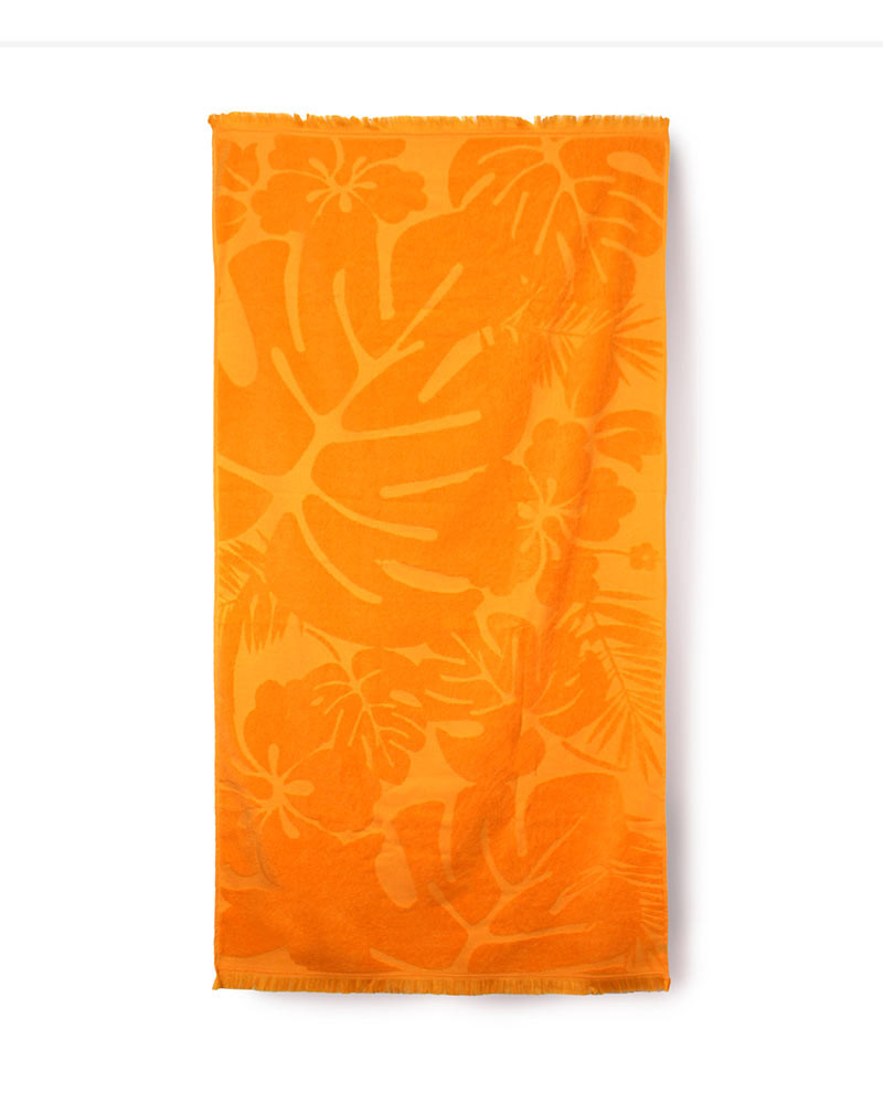 Prosop de Plaja Party Orange, 80x160 cm (Bumbac 100%)