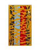 Prosop de Plaja Velour Safari Gold, 95x180 cm (Bumbac 100%)