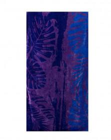 Prosop de Plaja Velour Aloha Blue, 95x180 cm (Bumbac 100%)