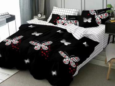 Lenjerie 1 Persoana Love Butterfly (Finet)