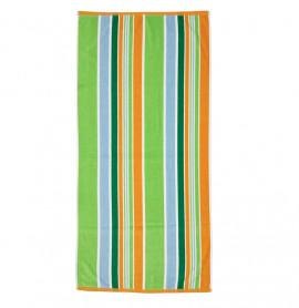 Prosop de Plaja Stripe Orange, 70x140 cm (Bumbac 100%)